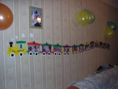 Украшение комнаты на день рождения ребенка своими руками фото